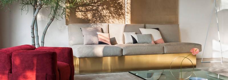Einfach Alcantara sofa Bestand An sofa Dekorativ